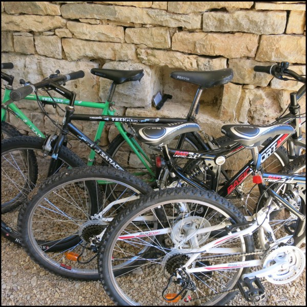 Bikes square