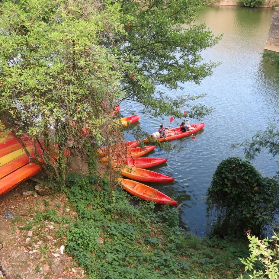 Canoes St.Antonin